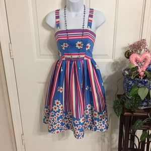 Betsey Johnson Cute Summer Dress (Size 0) (G1)
